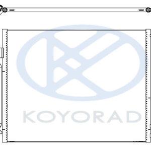 F10 {F07 (09-)/ F06 (11-)/ F12 (11-)/ F01/F02 (09-)} КОНДЕНСАТОР КОНДИЦ (KOYO)