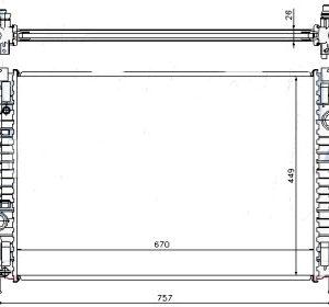 MONDEO {FOCUS 11-/S-MAX 06-/Freelander 07-/S60/S80/V70/XC60/XC70 06-} РАДИАТОР ОХЛАЖДЕН (см.каталог)
