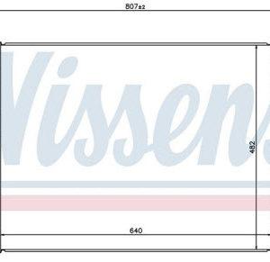 IX35 {KIA SPORTAGE 10-} РАДИАТОР ОХЛАЖДЕН (NISSENS) (см.каталог) MT