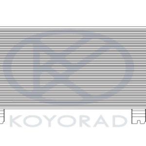 RX270/350/450h КОНДЕНСАТОР КОНДИЦ (KOYO)