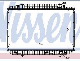 W126 РАДИАТОР ОХЛАЖДЕН (см.каталог)