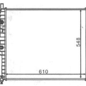 W163/ML {270 CDI} РАДИАТОР ОХЛАЖДЕН (см.каталог)