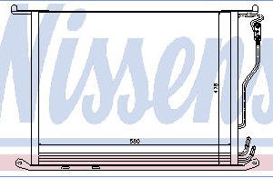 W220 {+ W215 99-} КОНДЕНСАТОР КОНДИЦ (NISSENS) (AVA) (см.каталог)