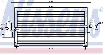 P10 КОНДЕНСАТОР КОНДИЦ (R12) (NISSENS) (NRF) (GERI) (см.каталог)