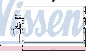 P10 КОНДЕНСАТОР КОНДИЦ (R134A)