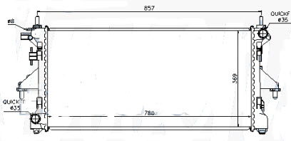 BOXER {CT JUMPER/FIAT DUCATO} РАДИАТОР ОХЛАЖДЕН (см.каталог)