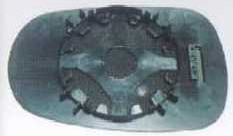 MEGANE {CLIO 94-98/00-/SCENIC96-} СТЕКЛО ЗЕРКАЛА ЛЕВ МЕХАН (aspherical)