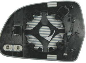 OCTAVIA {SUPER B 08-/ A3 09-/ A5 07-/ A6 09-/ A8 08-} СТЕКЛО ЗЕРКАЛА ПРАВ С ПОДОГРЕВ (convex)