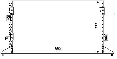 CAMRY {LX ES300} КОНДЕНСАТОР КОНДИЦ (R12)
