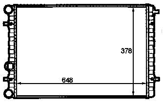 BEETLE РАДИАТОР ОХЛАЖДЕН (NISSENS) (NRF) (GERI) (см.каталог)