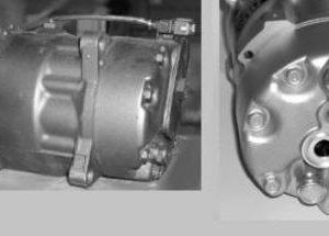 GOLF {Vento 93-/Passat 93-/Caddy 95/Polo 97-/Ibiza 93/Toledo 91-} КОМПРЕССОР КОНДИЦ (см.каталог) (AVA)