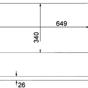 POLO {FABIA 10-/ROOMSTER 10-/ A1 10-} РАДИАТОР ОХЛАЖДЕН (см.каталог)