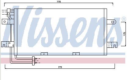 TRANSPORTER КОНДЕНСАТОР КОНДИЦ (NISSENS) (NRF) (GERI) (см.каталог)