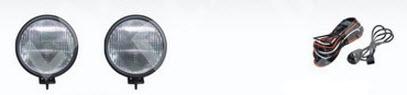 УНИВЕРСАЛЬНЫЕ {диаметр 145 мм} ФАРА ПРОТИВОТУМ Л+П (КОМПЛЕКТ) С ПРОВОДК , КНОПКОЙ